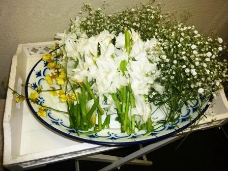 仙川斎場:お別れ花