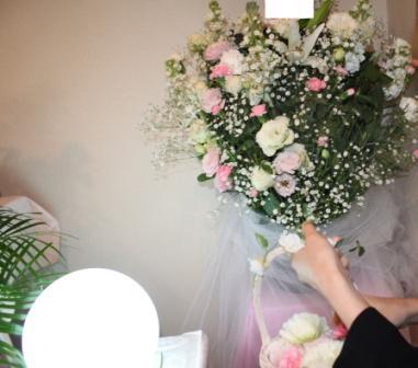 仙川斎場第一別院:献花