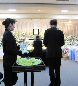 京王メモリアル調布:献花