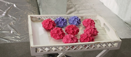 南多摩斎場:献花