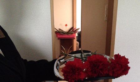 セレモリアル仙川斎場第二別院:献花