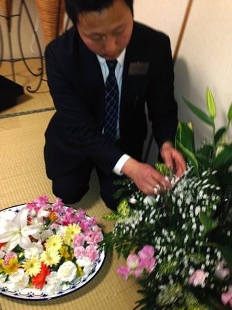 セレモリアル仙川斎場第二別院:お別れ花