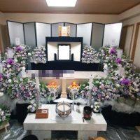 仙川斎場第二別院:仏式花祭壇