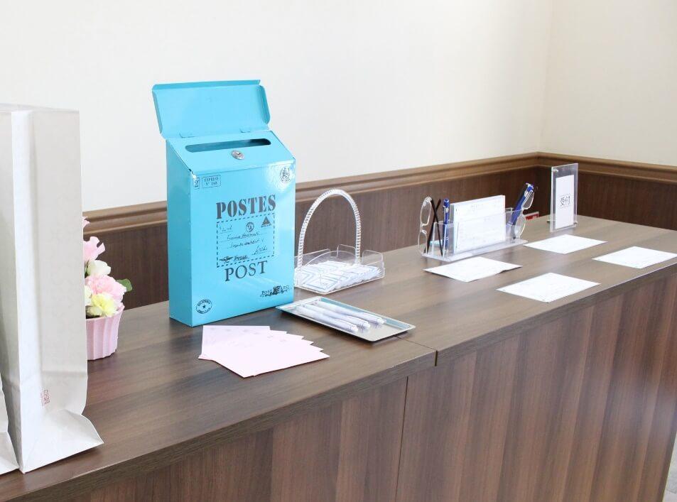 家族葬ホールのぼりと:故人へのメッセージボックス