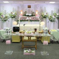 南多摩斎場第一式場:花祭壇