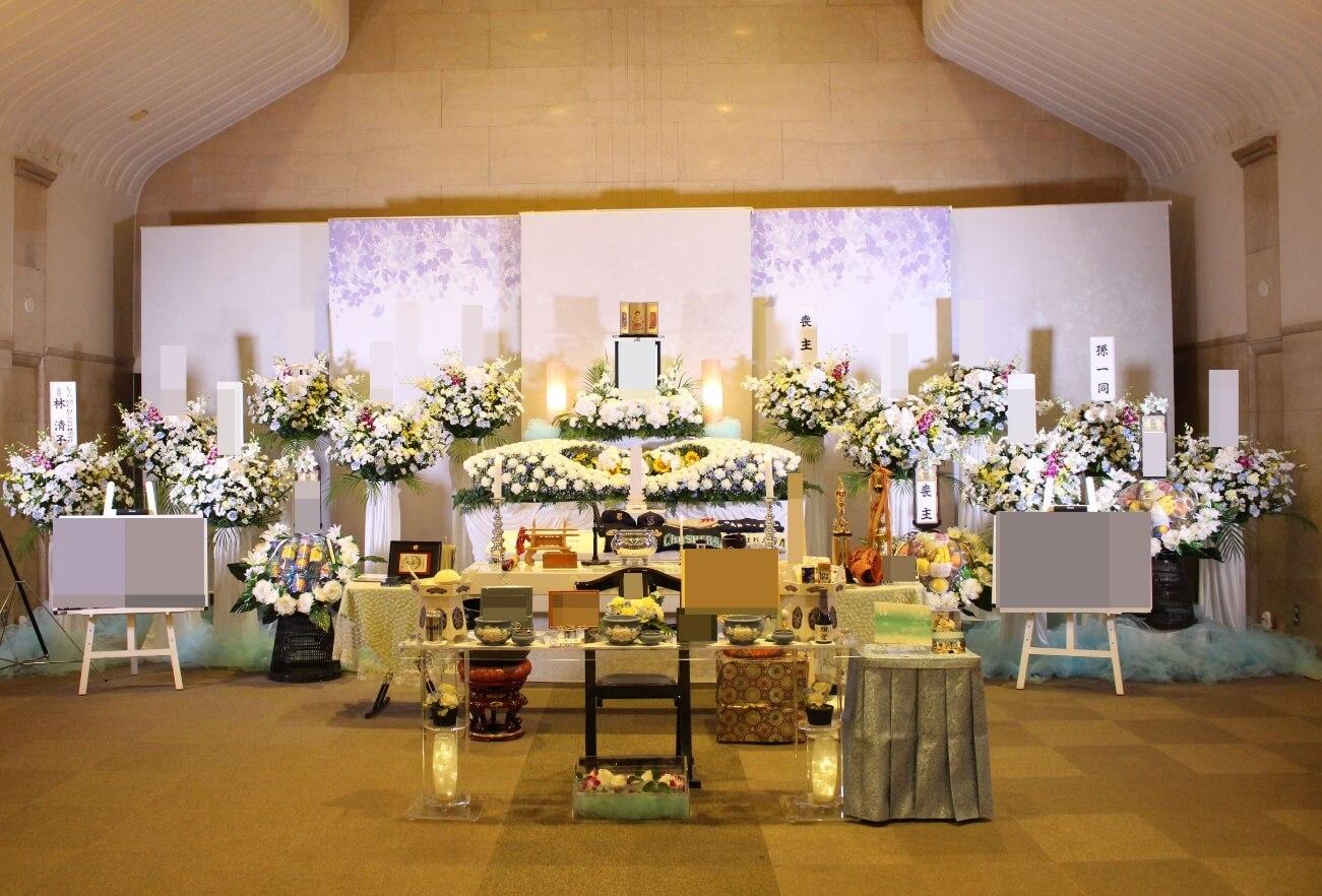 相模原市営斎場大式場:花祭壇