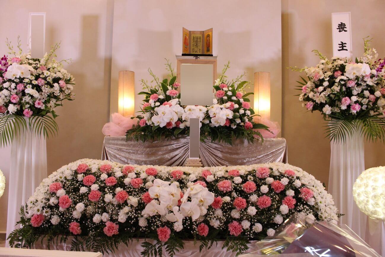 臨海斎場:花祭壇