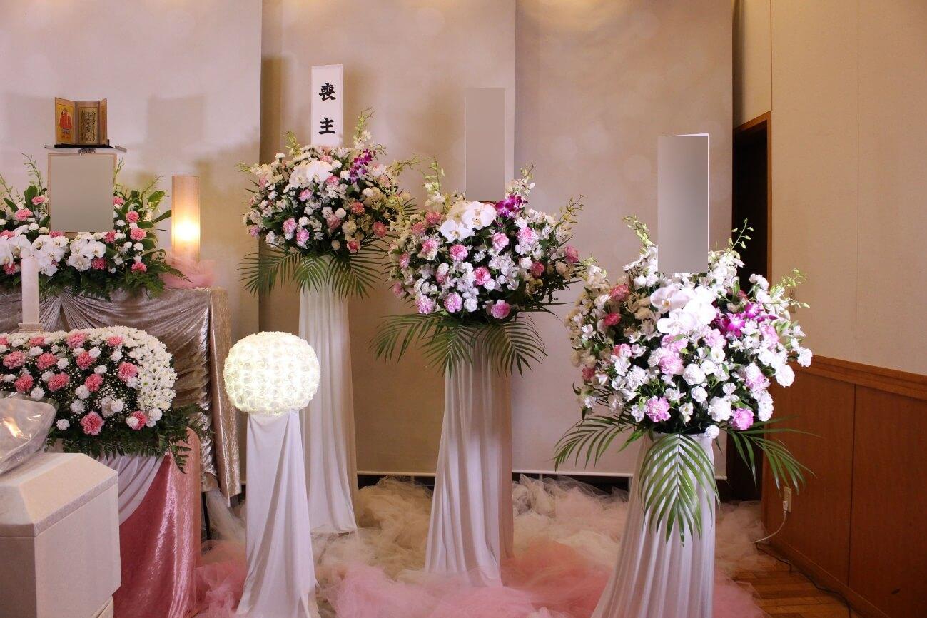 臨海斎場:供花