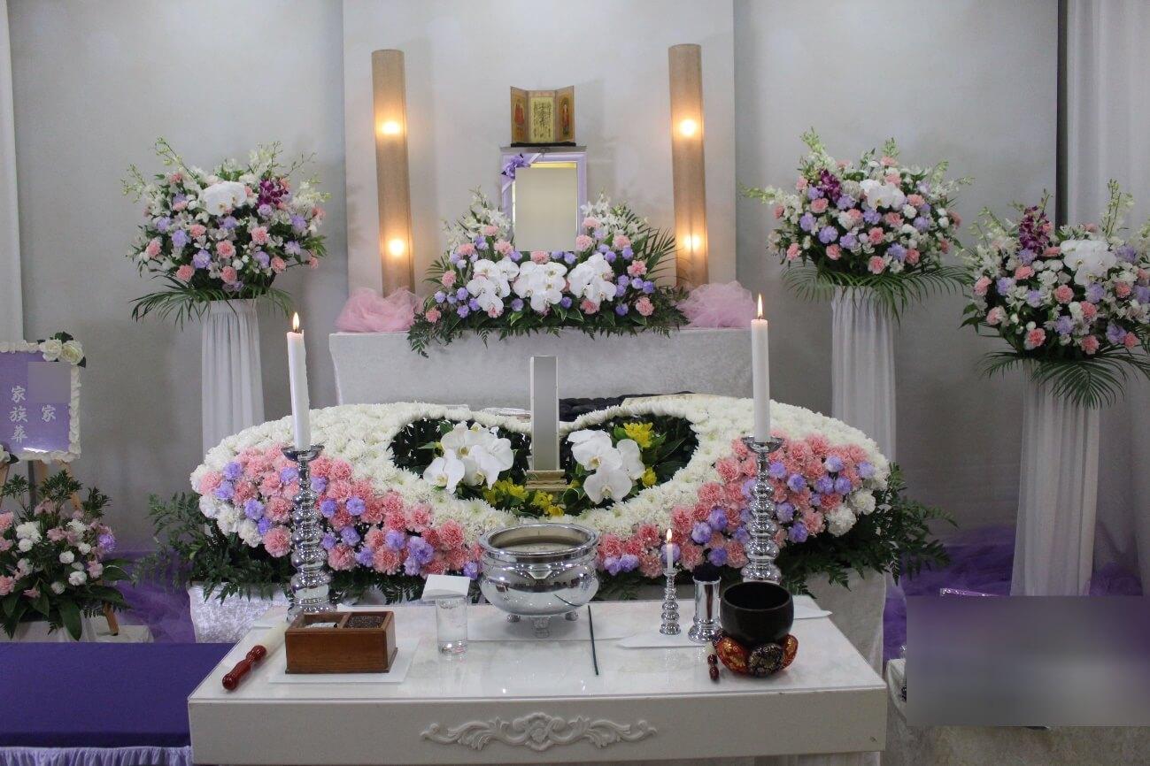 桐ヶ谷斎場花祭壇
