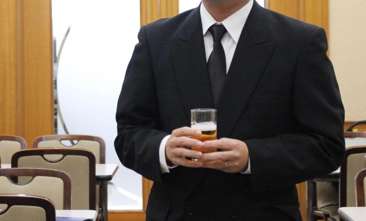 桐ヶ谷斎場献杯