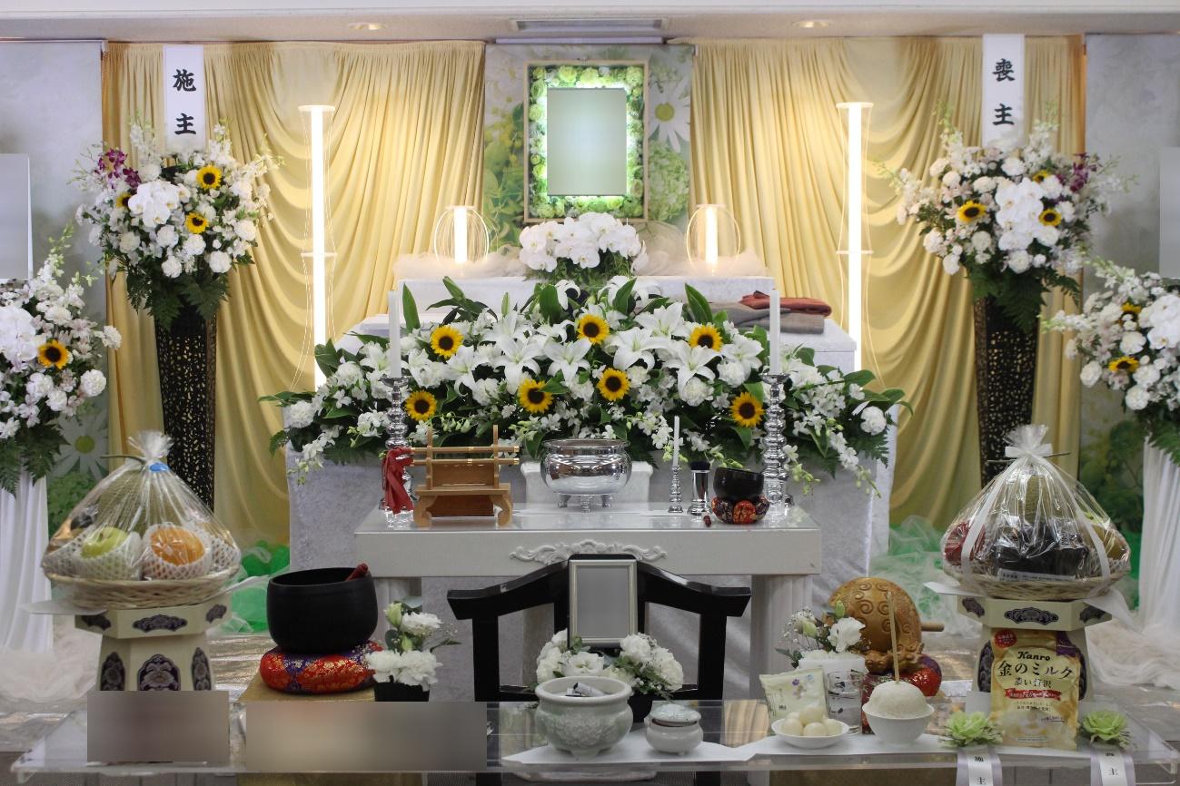多摩斎場:花祭壇