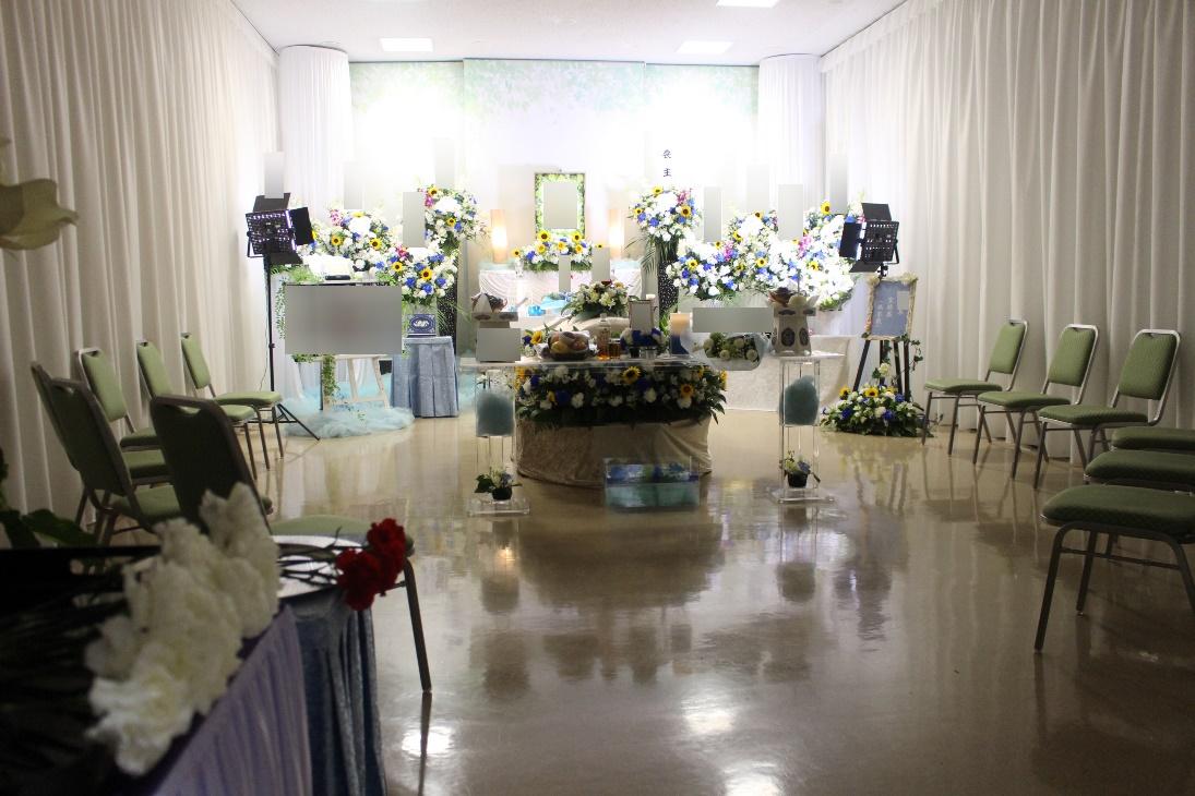 代々幡斎場:無宗教葬式