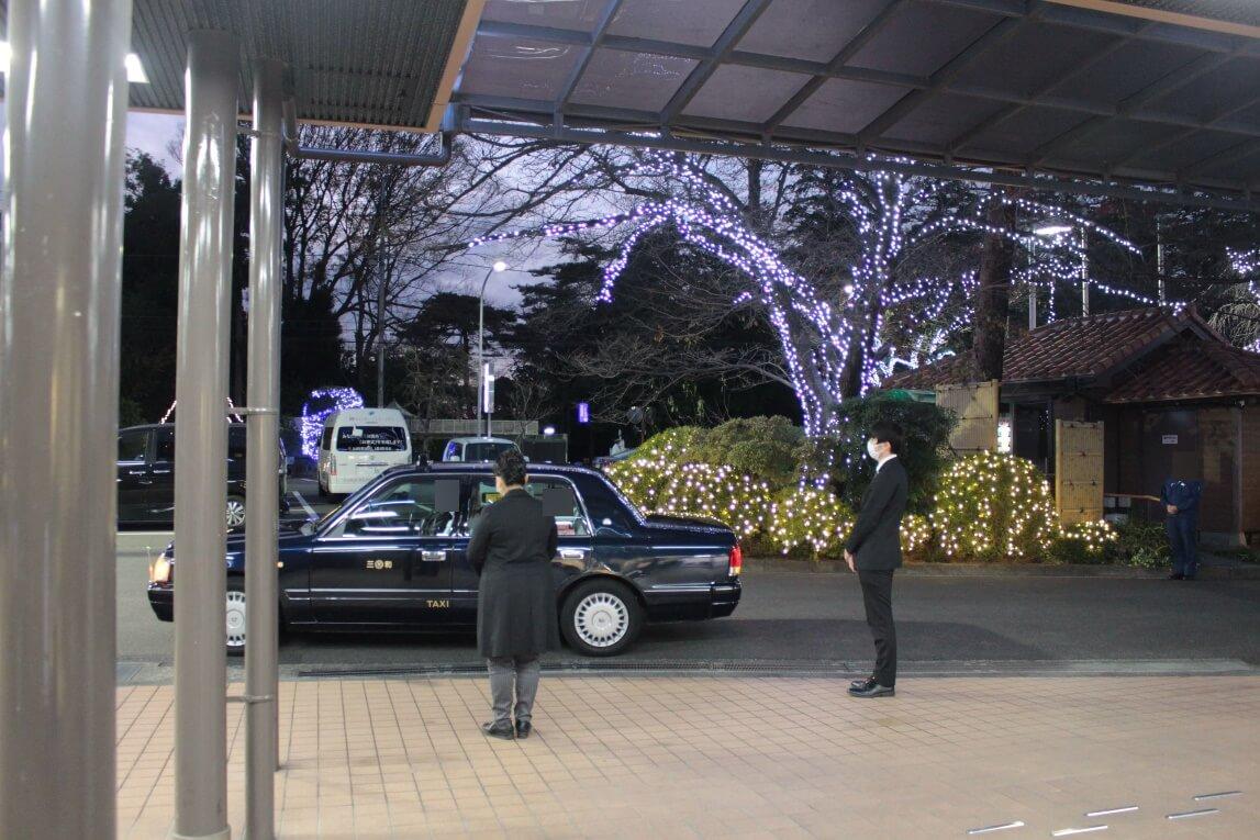 多磨葬祭場:前日のお打ち合わせ
