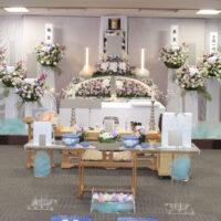 南多摩斎場:仏式花祭壇