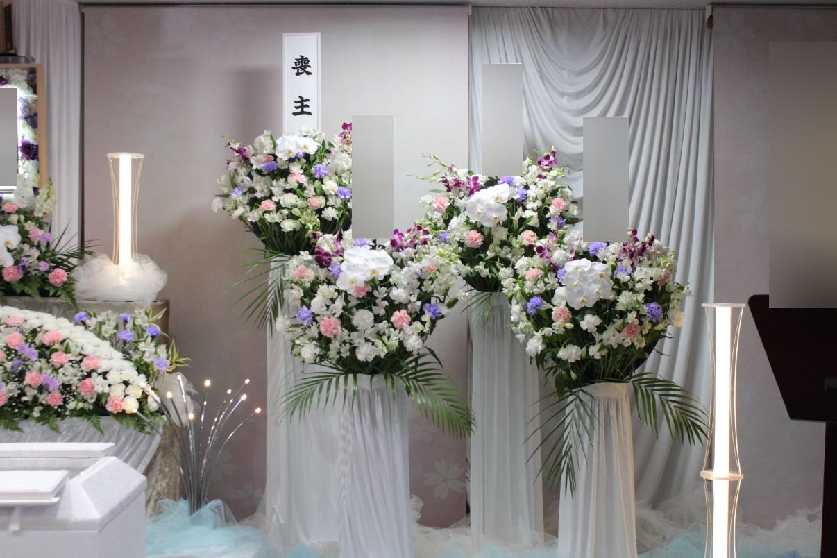南多摩斎場:供花