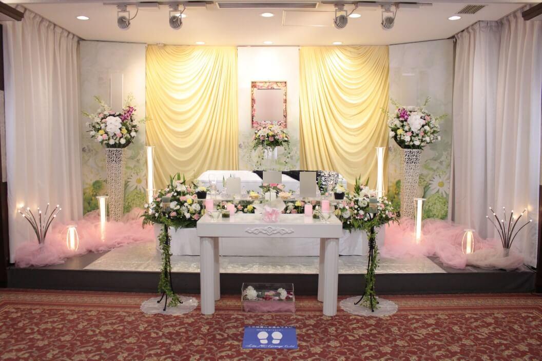 多磨葬祭場:無宗教花祭壇