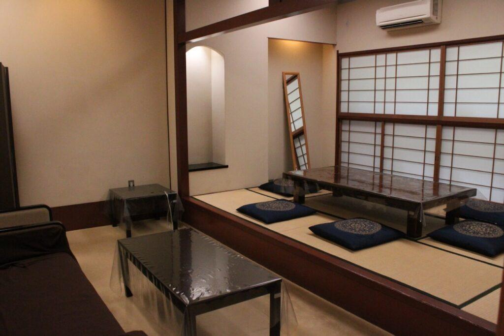 かわさき北部斎苑:親族控室