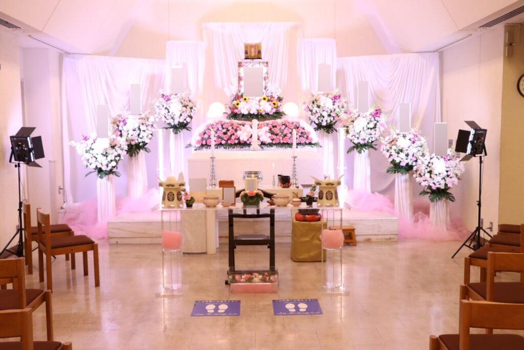 かわさき北部斎苑:花祭壇