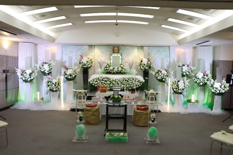 南多摩斎場第三式場:花祭壇