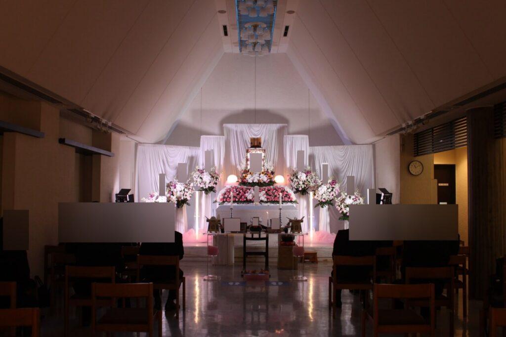 かわさき北部斎苑:告別式