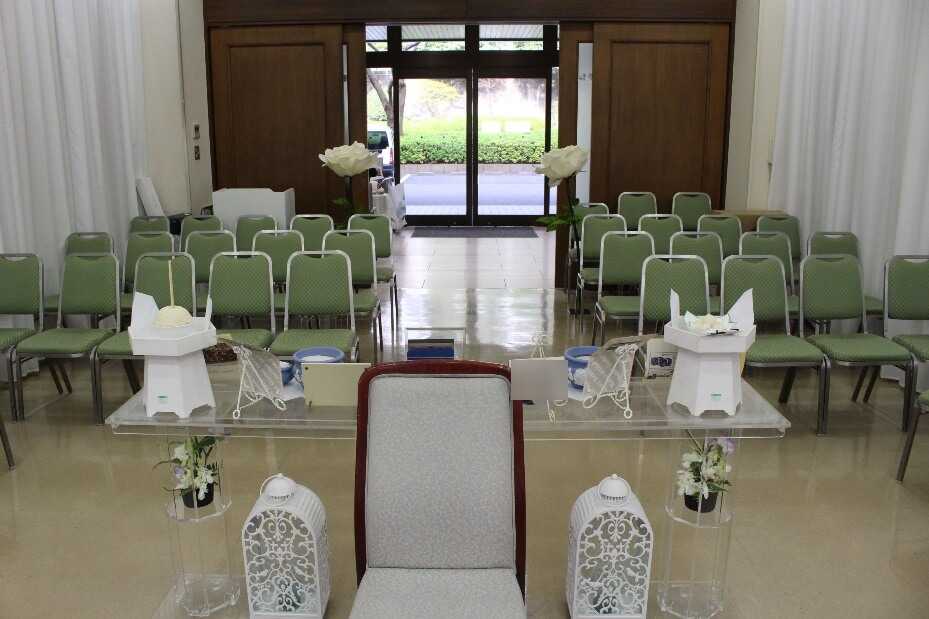 家族葬プランオプション:式場使用料