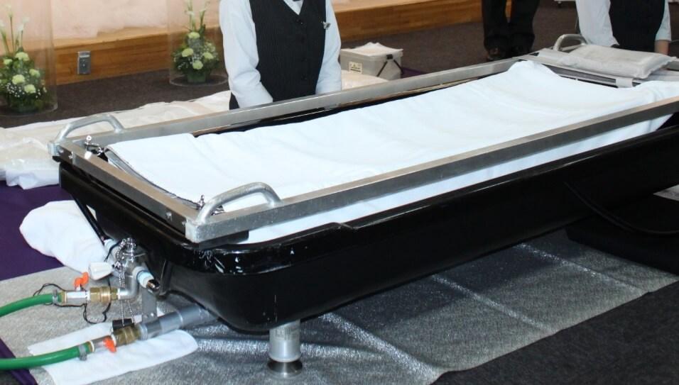 家族葬プランオプション:ラストメイク湯灌