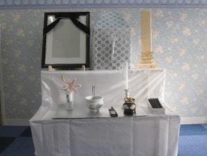 家族葬プランオプション:枕飾り・後飾り